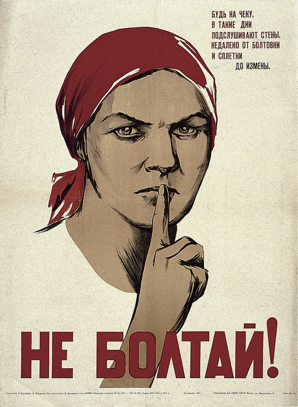 Nina Vatolina, Don't Chatter!