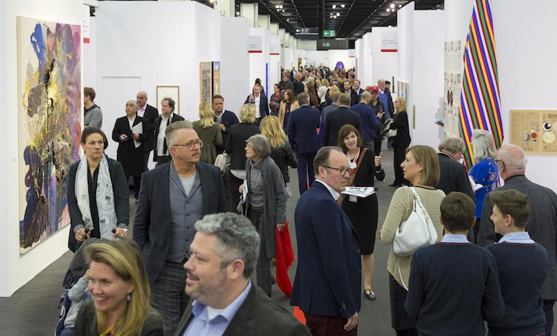 Impression von der ART COLOGNE 2017, Halle 11.2