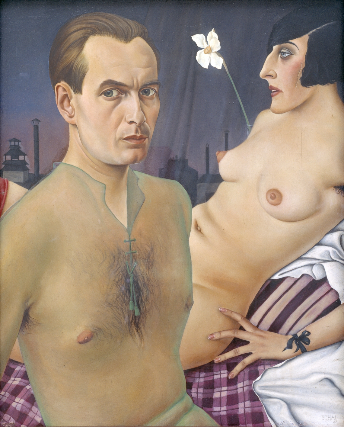 Christian Schad - Self-Portrait 1927