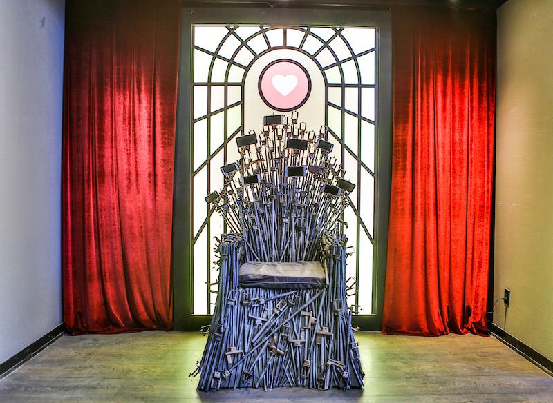 Seflie Throne,The Museum of Selfies