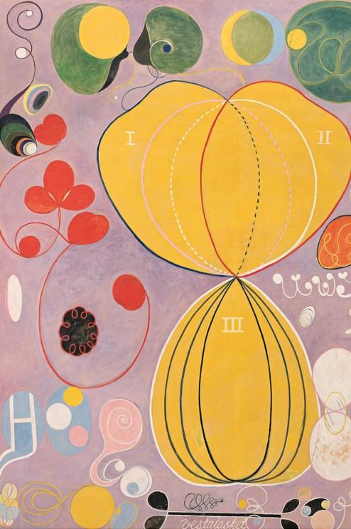 Hilma af Klint The Ten Largest,