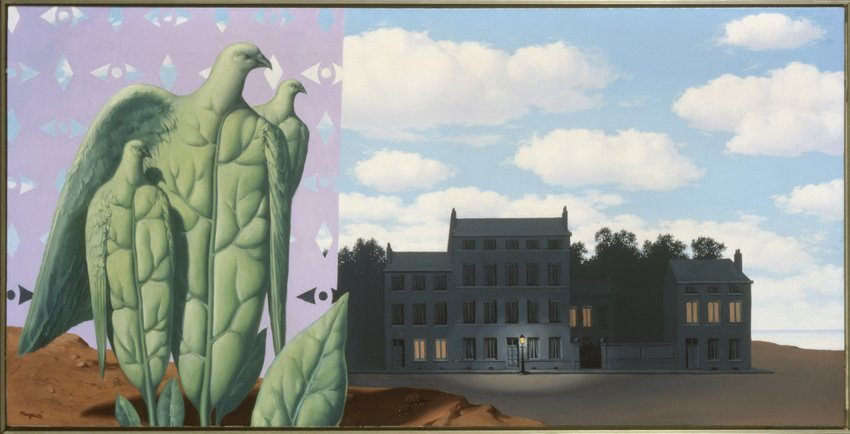 René Magritte, The Enchanted Domain I