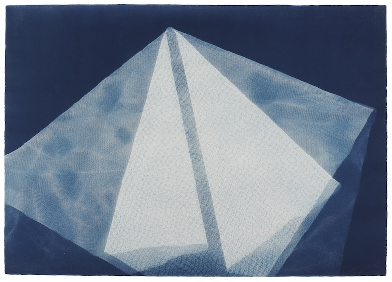Barbara Kasten Photogenic Painting, Untitled 1974