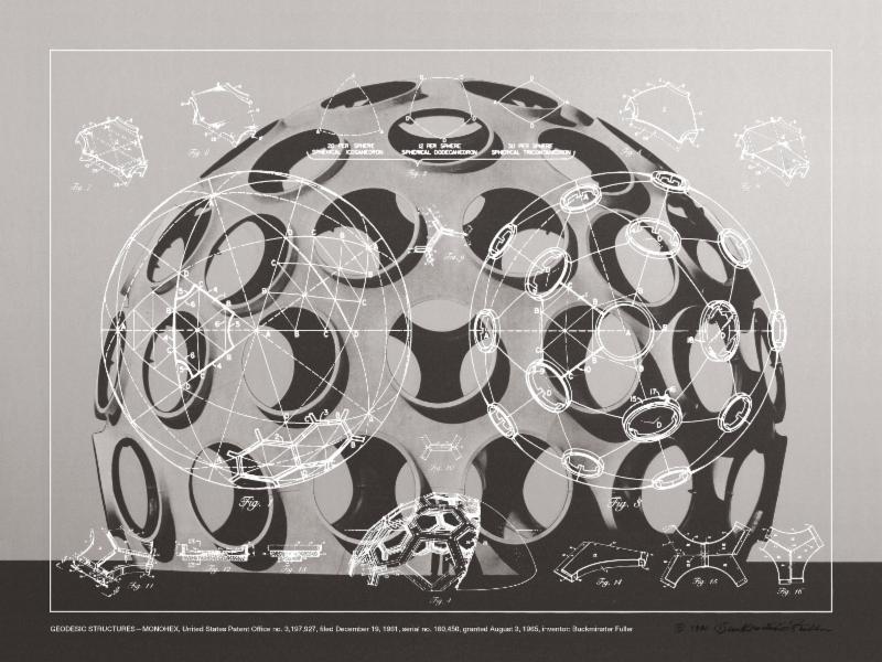 R. Buckminster Fuller, GEODESIC STRUCTURES - MONOHEX