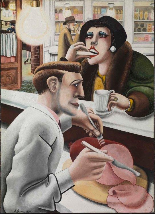 Edward Burra, The Snack bar