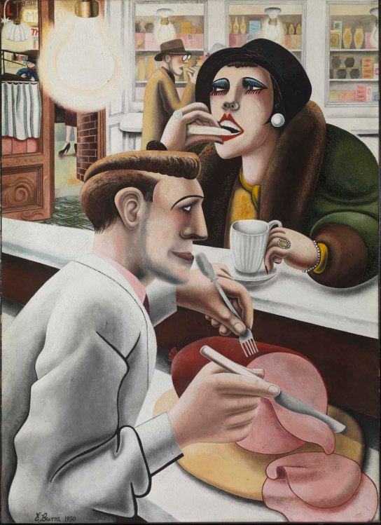 Edward Burra, The Snack bar