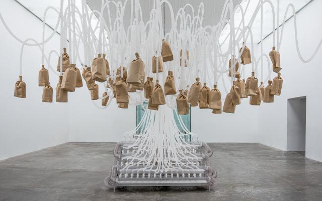 Rafael Lozano-Hemmer, Vicious Circular Breathing