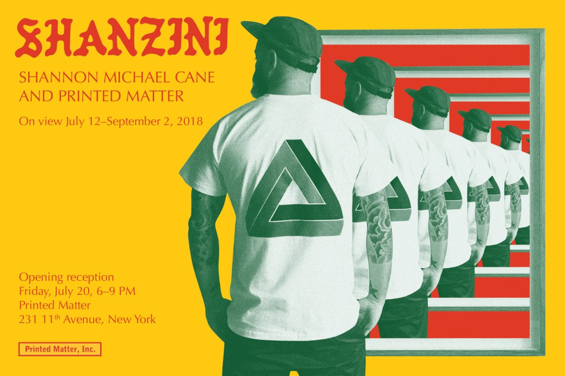 SHANZINI: Shannon Michael Cane and Printed Matter