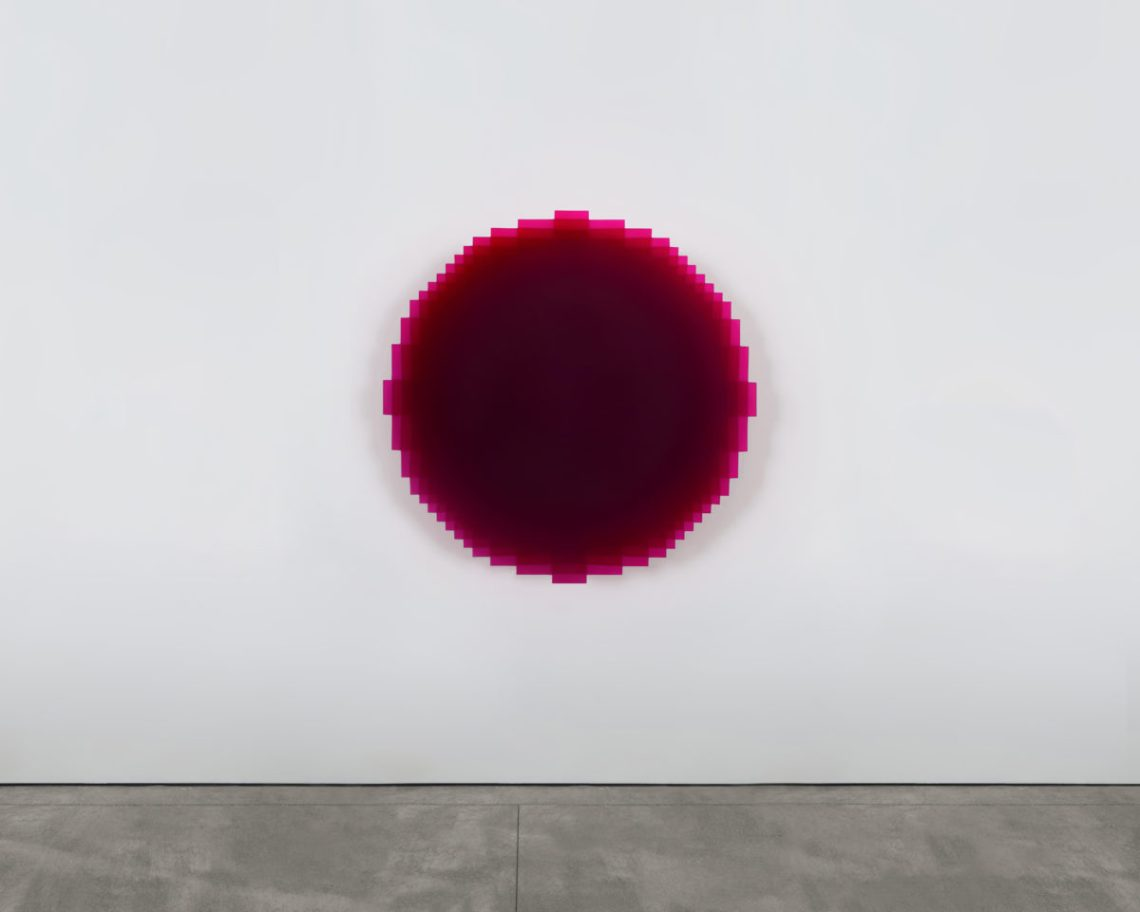 JOHANNES GIRARDONI Resonant—Red Violet