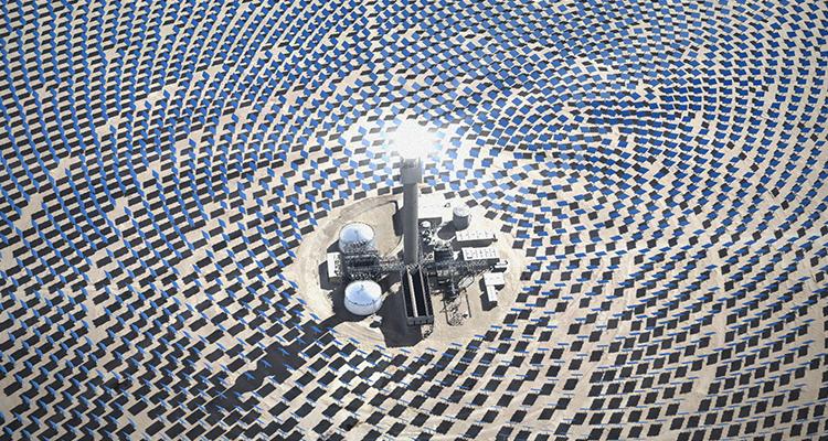 John Gerrard, Solar Reserve
