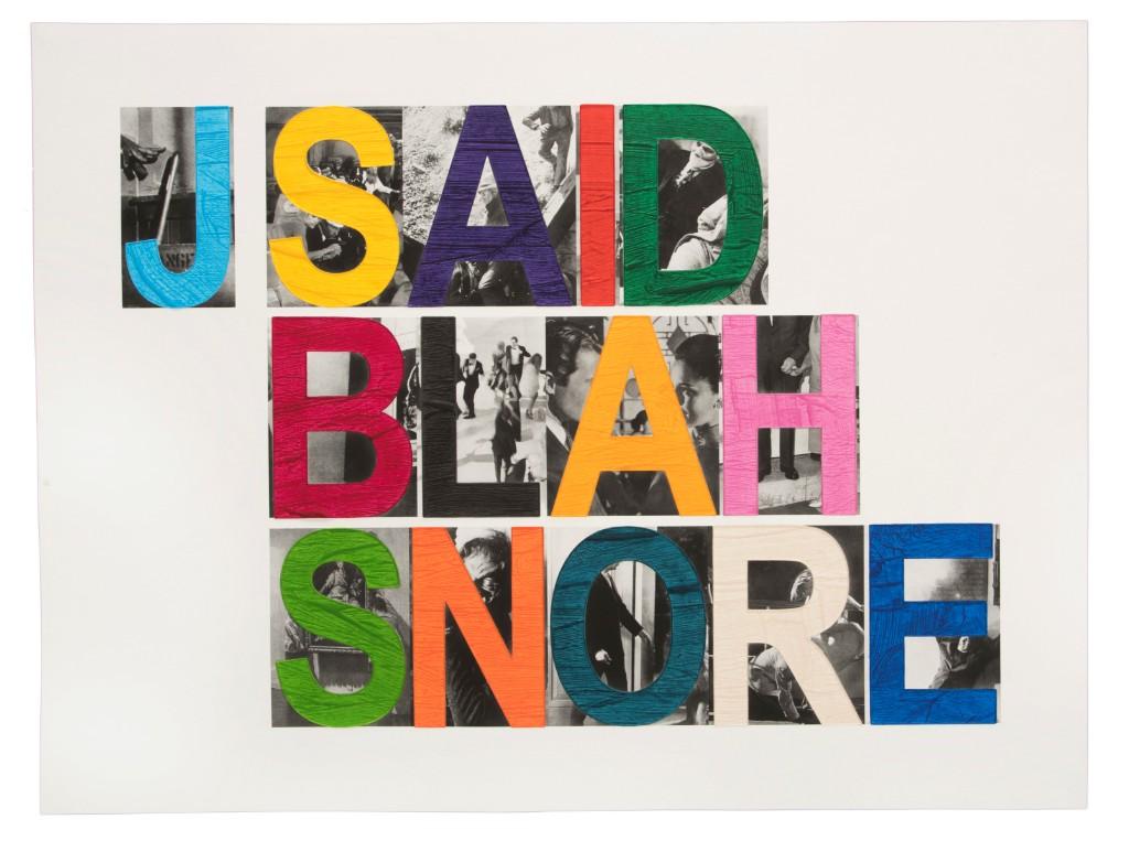 John Baldessari: BLAH