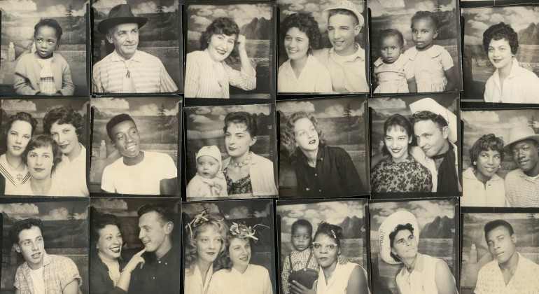 Untitled (Group of Portraits from Traveling Photo Studio)