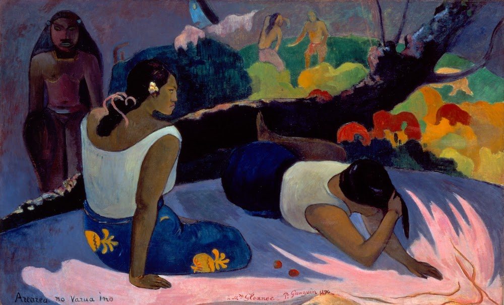 Paul Gauguin, Reclining Tahitian Women, Fine Arts Museums of San Francisco