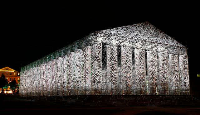 Marta Minujin, Parthenon of Books