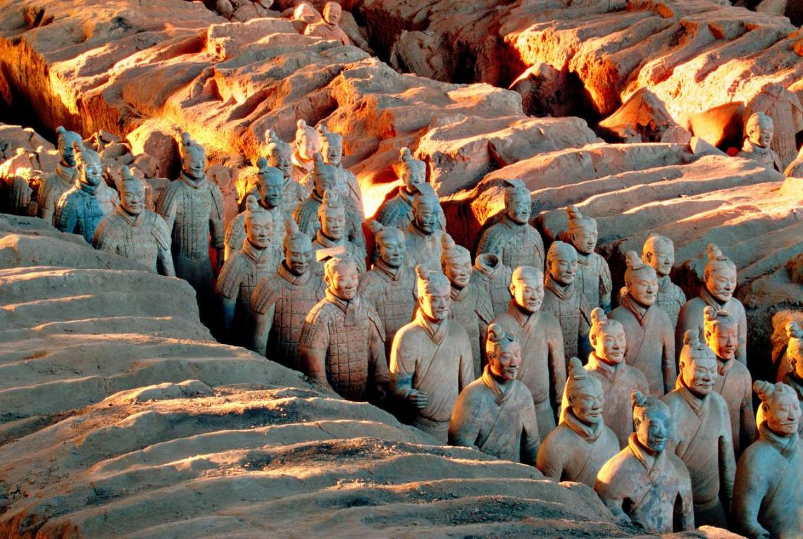 CHINESE The terracotta army Qin dynasty